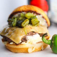 Umami Burger...omit the garlic mayo, double yuck