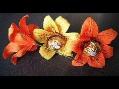 Bukiet z cukierków- lilie