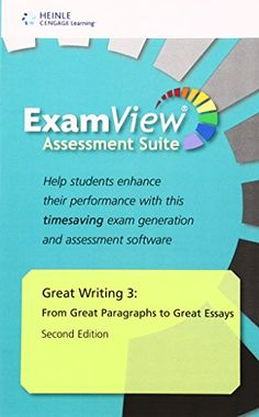 Great Writing    Greater Essays Classroom Presentation Tool     Amazon com CHAPTER