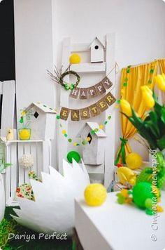 Мастер-класс Поделка изделие Пасха Папье-маше Большое Пасхальное яйцо Бумага фото 16