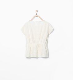 ZARA - REBAJAS - Camiseta poncho