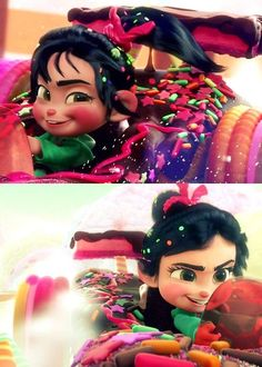 Vanellope is such a Cute Little Racer #WreckItRalph
