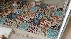 Cement tiles for my kitchen!