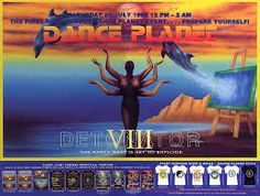 Image result for dreamscape rave posters
