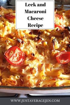 leek macaroni cheese is amazing and full of slimming world speed vegetables