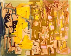 Ad Reinhardt Yellow Painting (Abstraction) oil on canvas Yellow Art, Yellow Painting, Mellow Yellow, Abstract Painters, Abstract Art, Ad Reinhardt, Monochrome Painting, Conceptual Art, Art Studios