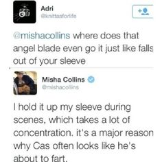 Because Misha, that's why.