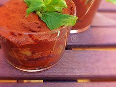 Mousse de chocolate con higos - mousse di cioccolato con fichi, Receta para Lahojadealbahaca - Petitchef