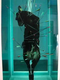 Damien Hirst...wow. reminds me of that statue in Boston