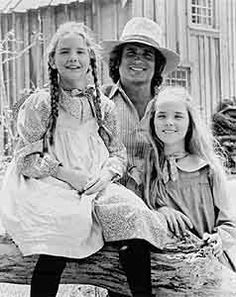 All the characters in the books & show, esp. the Ingalls family.  Little House on the Prairie