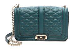 Rebecca Minkoff Love Shoulder Bag Green