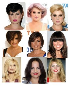Best Hairstyles for Your Face Shape - Pear/Triangle/Teardrop | Face ...