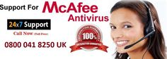 If your McAfee Antivirus is not working properly and unable to scan virus in your device then you need help and support for resolve this issue. Just Dial on McAfee Support Number 0800 041 8250 UK