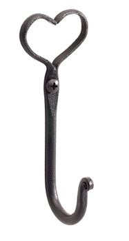 #3Wrought Iron Wrought Iron Robe #Hook # 55992 Shop --> http://www.rensup.com/Hooks/55992.htm?utm_source=Pin&utm_medium=Pin&utm_campaign=Product