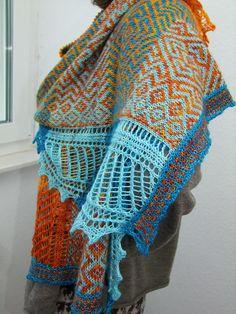 Ravelry: Project Gallery for Oceania pattern by Kieran Foley