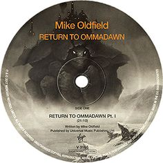 MIKE OLDFIELD / LP Return To Ommadawn (European Union: V 3166)