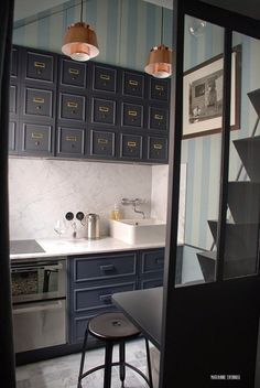 A Truly Tiny Apartment Under the Eaves in Paris | Apartment Therapy
