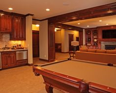Traditional Basement Design, Pictures, Remodel, Decor and Ideas - page 11