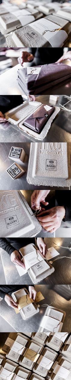 Cacao Barry. Hand-package to perfection. (More design inspiration at www.aldenchong.com)