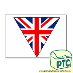 Great Britain - Primary Treasure Chest Teaching Activities, Teaching Art, Teaching Resources, Teaching Ideas, Ourselves Topic, Role Play, Treasure Chest, World War Two, Bunting