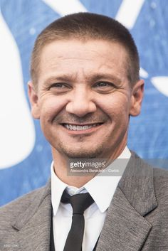 Jeremy Renner attends the photocall of 'Arrival' during the 73rd Venice Film Festival at on September 1, 2016 in Venice, Italy.
