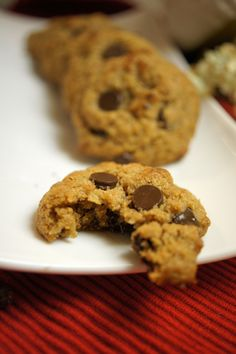 """Oatmeal"" choc chip cookies"