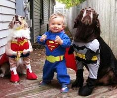 So cute! The justice league!