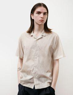 Stephan Schneider Shirt Material Sand Mens Button Up, Men Casual, Beige, Belgium, Cotton, Mens Tops, How To Wear, Stripes, Shirts