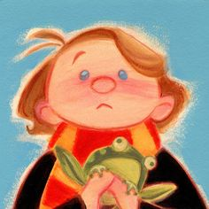 Adorable Harry Potter Art By Casey Robin