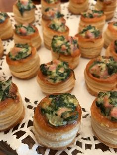 Ham, Brie and Spinach Vol Au Vents - Catering by Debbi Covington - Beaufort, SC