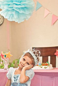 A Perfect Princess Birthday party - 4 years old