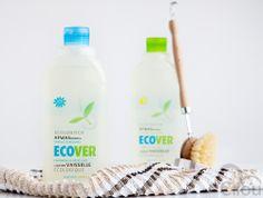 Schoonmaak producten van Ecover #cilou #webshop #eerlijk #heerlijk #fair #delicious #biologisch #organic #household #huishouden #Ecover #washingup #afwas #afwassen #afwasmiddel #detergent #clean #schoon