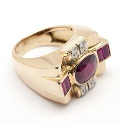 Ruby Jewelry, Jewelery, Fine Jewelry, Art Deco Ring, Sparklers, Gold Chains, Diamond Rings, Sapphire, Wedding Rings