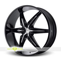 Helo HE866 Black Wheels For Sale - For more info:  http://www.wheelhero.com/customwheels/Helo/HE866-Black