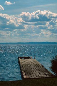 Summer // Deck // On the Water Beautiful World, Beautiful Places, Beautiful Ocean, Beautiful Pictures, Hello Weekend, Happy Weekend, Deck, Am Meer, Lake Life