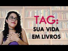 TRACINHAS: TAG - Sua vida em livros, por Juliana Arruda