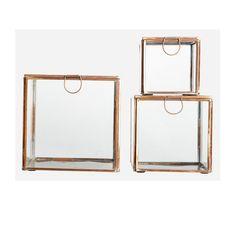 Storage Box 3pcs, Copper, House Doctor