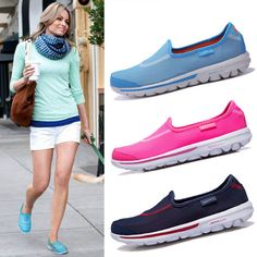 Find More Walking Shoes Information about 2015 New Gowalk Skechers Summer Style Women go Walking Shoes Rubber Soles Sneakers Breathable Shoes Slip on Air Mesh Flats Size,High Quality shoe painting,China shoes women flats Suppliers, Cheap shoes tight from customized jersey world on Aliexpress.com