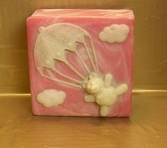 Design Gifts teddy bear trinket box incolay style stone pink white marbled look