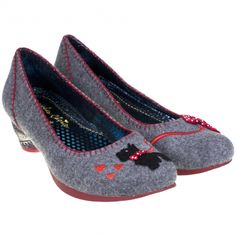 Irregular Choice - this site has some of the CRAZIEST shoes I've ever seen! Some seem not-wearable and others are plain amazing.