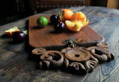 Cutting board made from oak