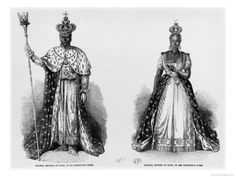 General Faustin Soulouque as Emperor of Haiti, and Adelina as Empress of Haiti, 1856 Giclee Print