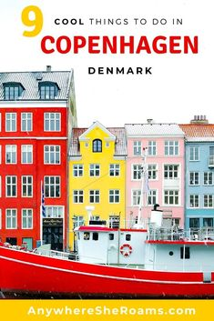 Are you ready to discover 9 really cool things to do in Copenhagen, Denmark?! After visiting I can now see why they are one of the most prominent Scandinavian nations and dubbed as one of the world's happiest places. They have an amazingly laid-back culture and are very eco-conscious. #Denmark #Copenhagen #Europe #travel #city-break #sustainable #eco-friendly #Scandinavia