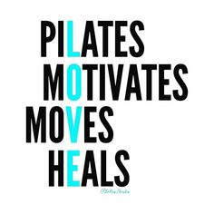 Our kind of #Pilates Scrabble 💛 💚 💙