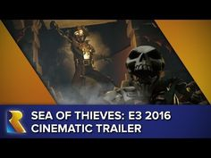 "Sea of Thieves: Official E3 2016 Cinematic Trailer - YouTube | The Sea of Thieves E3 2016 Cinematic Trailer, using in-game assets to portray just some of the limitless piratical possibilities on the legendary Sea of Thieves. Coming to Xbox One and Windows 10. Song: ""We Shall Sail Together"" composed by Robin Beanland and performed by Anna Hon. Visit the official game site at https://www.seaofthieves.com #Gaming #VideoGames #XboxOne #Microsoft #Rare"