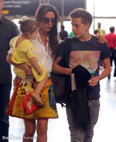 David and Victoria Beckham.... #family