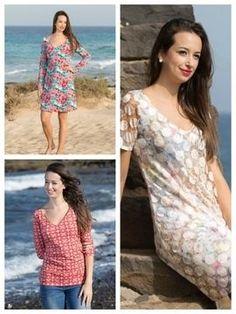Kleid oder Shirt mit V-Ausschnitt - Anleitung via Makerist.de