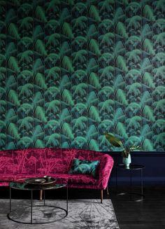 Jungle Wallpaper, Cole Son, Cole And Son Wallpaper, Palette, Nook And Cranny, Portfolio Design, Decoration, Wall Design, Palm