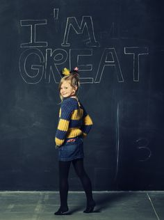 American Outfitters Winter 2012 Supercool girls look with punkish giant striped sweater