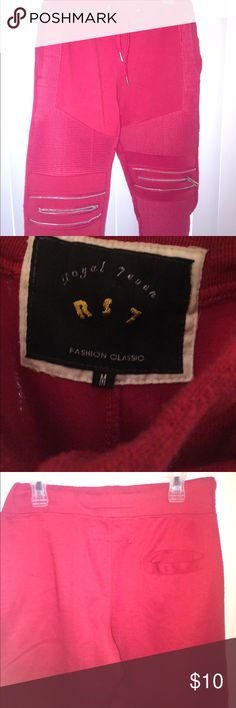 Royal 7even Rs7 Joggers Red 9/10 condition royal 7even Pants Sweatpants & Joggers